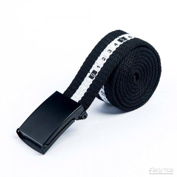 Pánský měřící pásek Černý o délce 115 cm