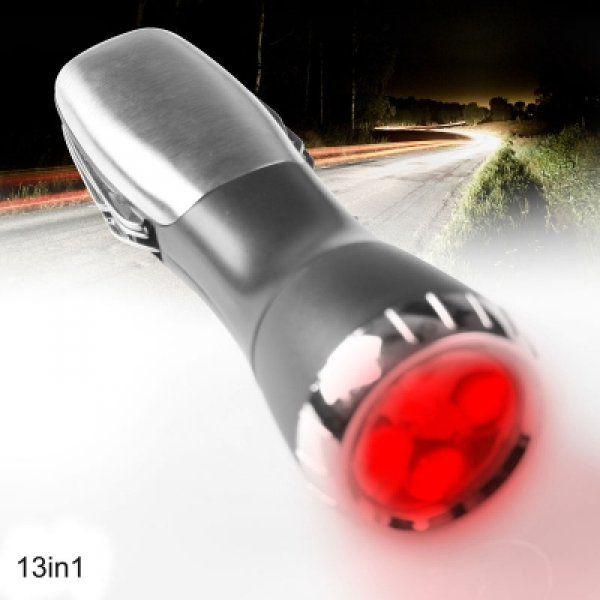 Multifunkční svítilna 13v1