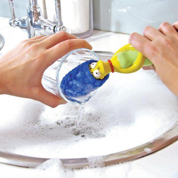 Mycí houba Marge