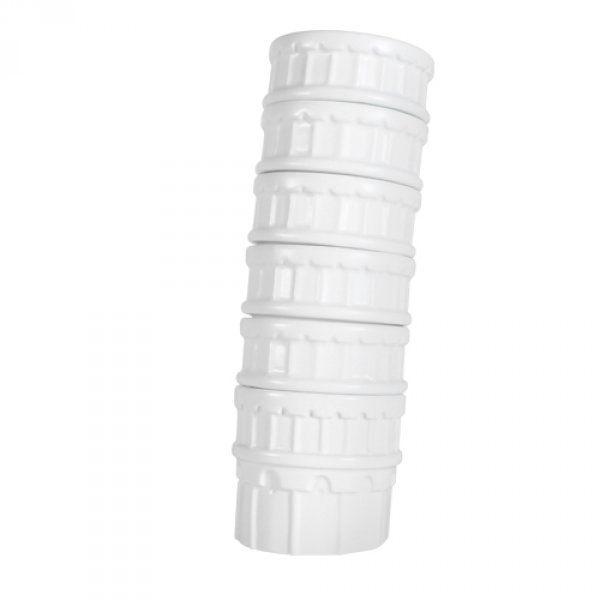 Nakloněné šálky - věž Pisa