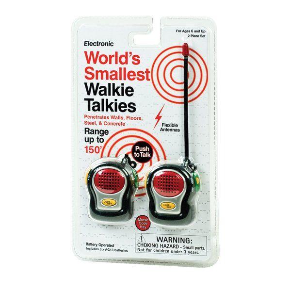 Nejmenší vysílačky na světě