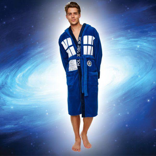 Pánský župan Dr Who – Tardis
