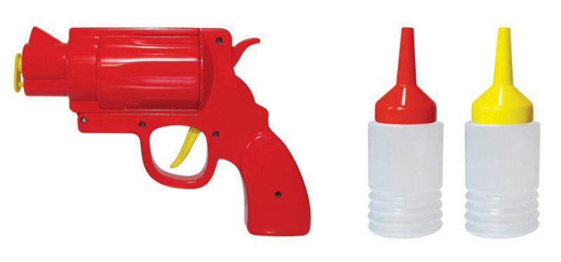 Pistole na kečup či hořčici