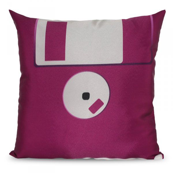 Polštář disketa – fialová