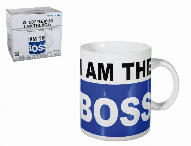 Porcelánový hrnek XL - Šéf
