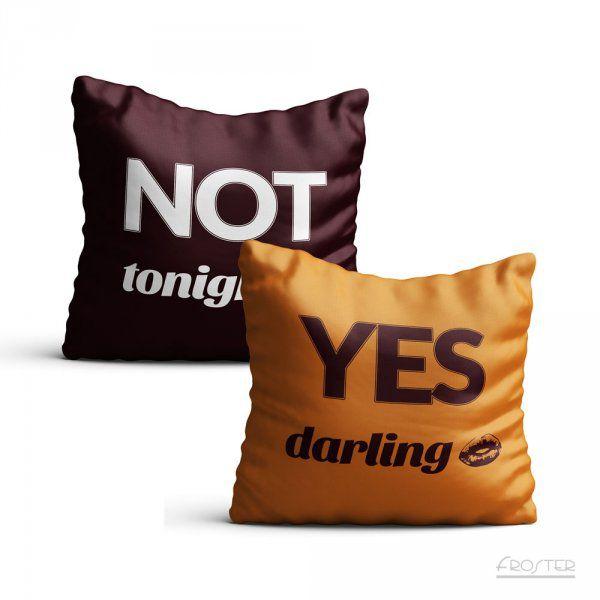 Povlak na polštář - YES/NO