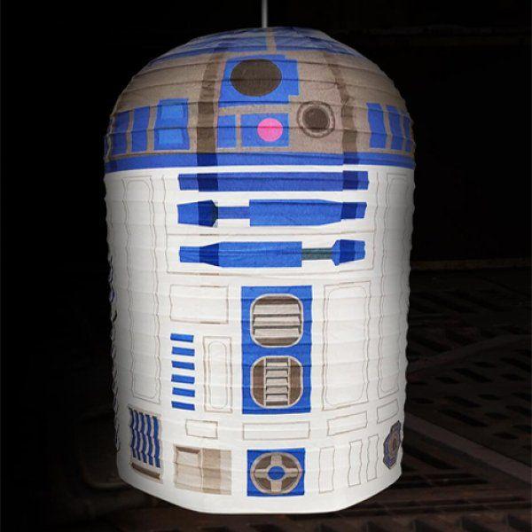 R2 D2 Star Wars papírové stínítko