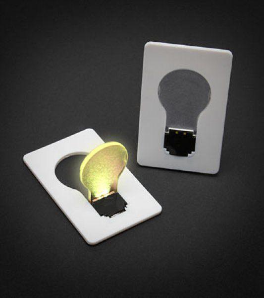 Světlo do kreditky