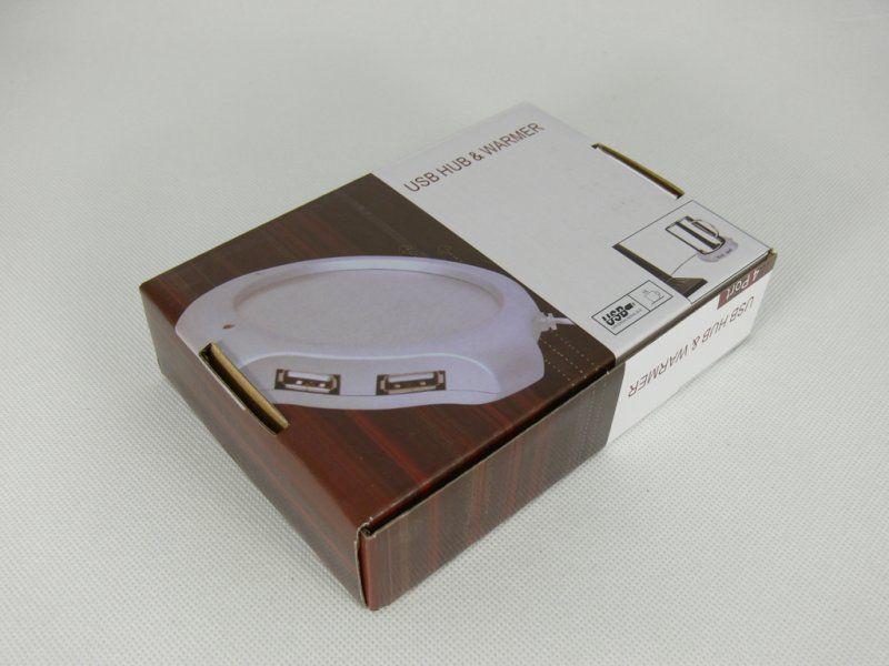 USB ohřívač nápojů