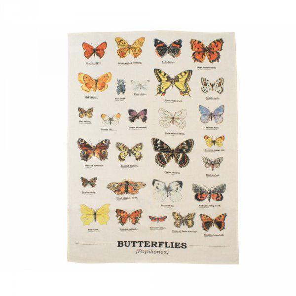Utěrka s motýly