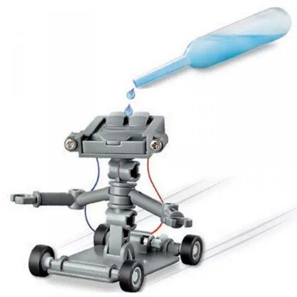 Vodní robot s pohonem na sůl