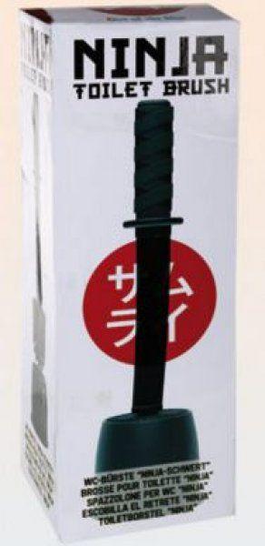 WC kartáč - samurajský meč