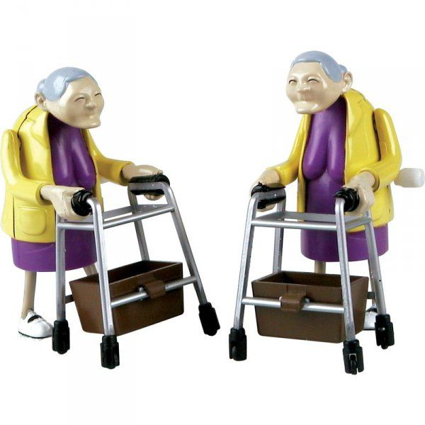 Závodící babičky
