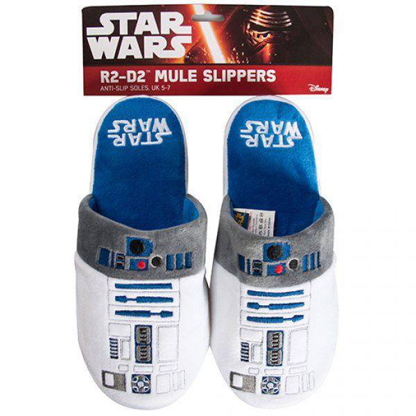 Bačkory Star Wars - R2-D2  - Střední (EU 38-41)