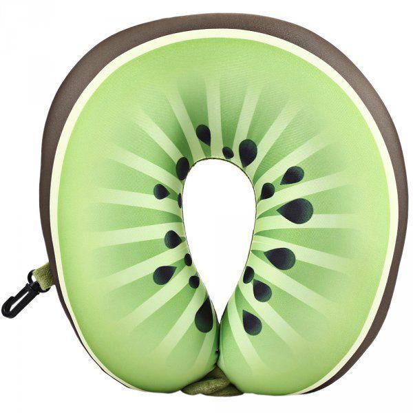 Cestovní polštář – design ovoce  - KIWI
