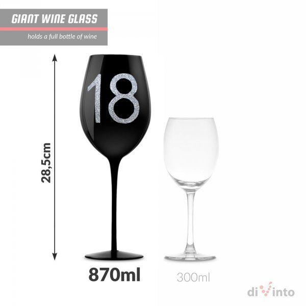 diVinto Slavnostní obří sklenice na víno – 18