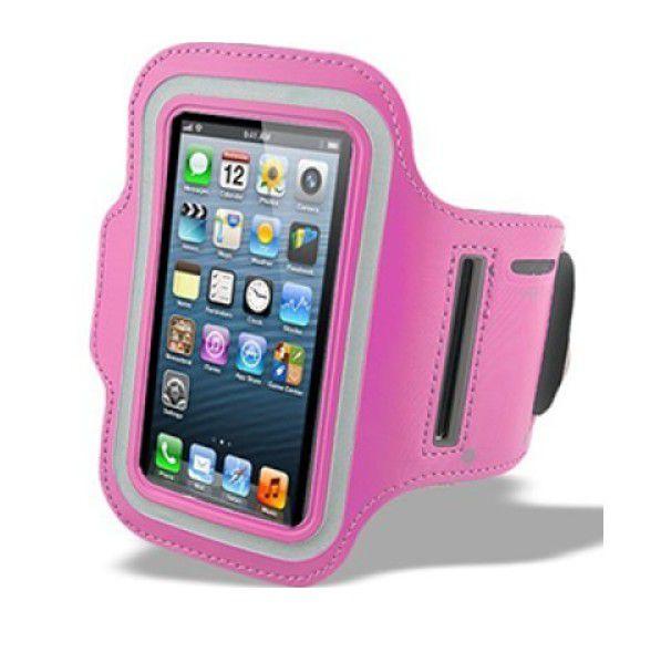 Držák mobilu na ruku - růžová