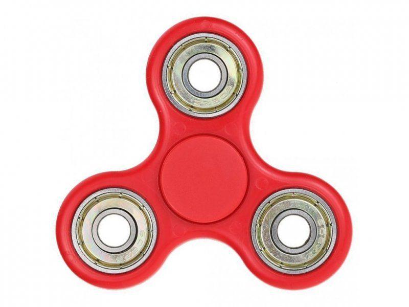 Fidget spinner - antistresová hračka - Červená