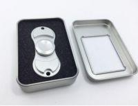Fidget Spinner Metal DELUXE - Stříbrná