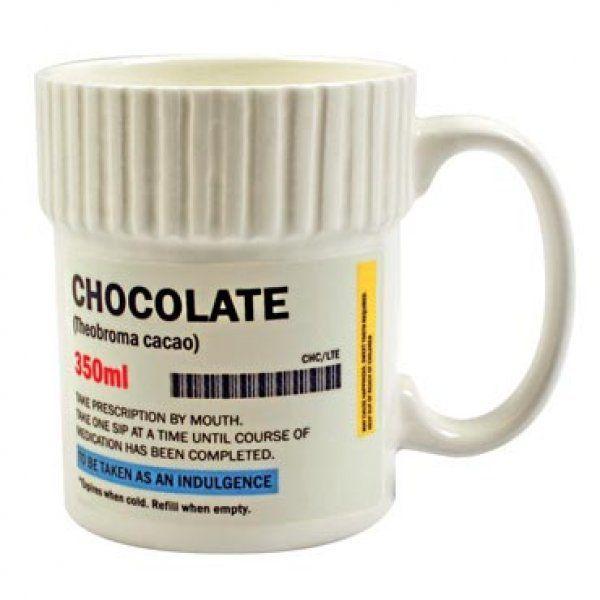 Hrnek na předpis - čokoláda