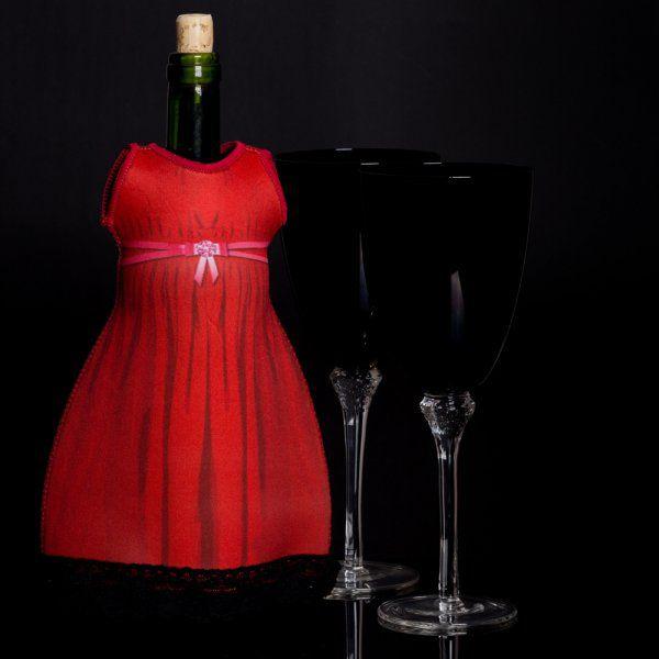 Lady diVinto  - Červené šaty