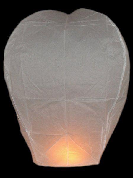 Lampion přání – Bílý