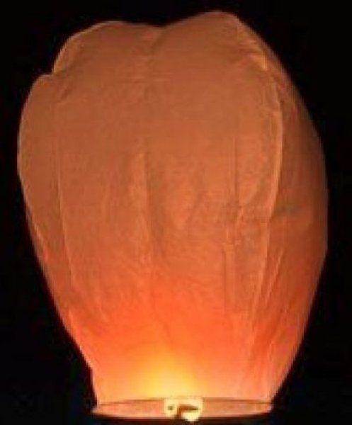 lampion přání Oranžový