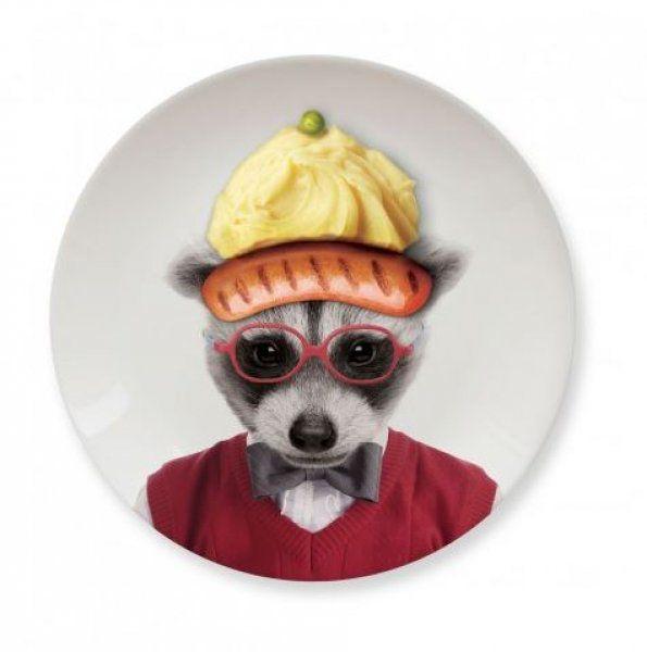 Malé talířky Wild Dining – mýval