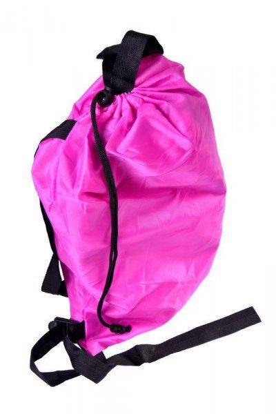 Nafukovací vak Lazy bag dvouvrstvý - Nafukovací vak Lazy bag dvouvrstvý - růžový