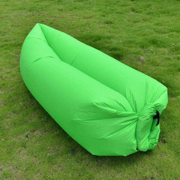 Nafukovací vak Lazy bag dvouvrstvý - Nafukovací vak Lazy bag dvouvrstvý- zelený