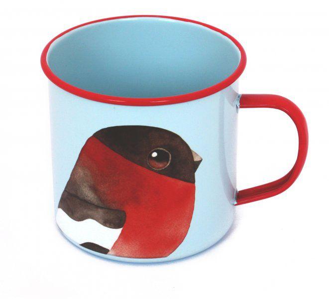 Plecháček - Kreslený ptáček Matt Sewell - Hýl obecný