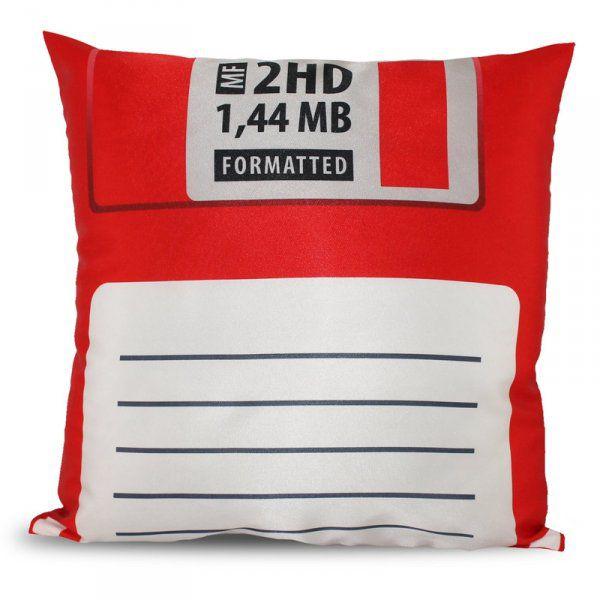 Polštář disketa – červená