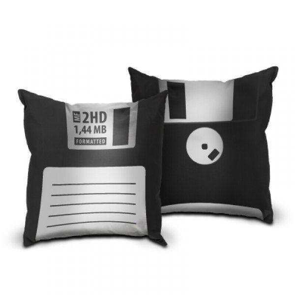 Polštář disketa - černá
