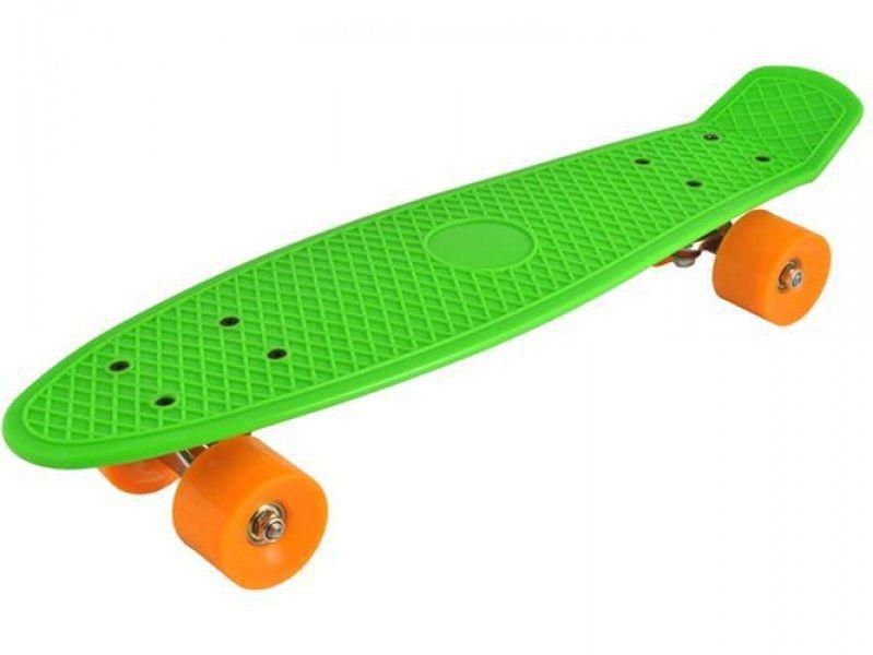 Stylový skateboard z tvrzeného plastu - Zelená