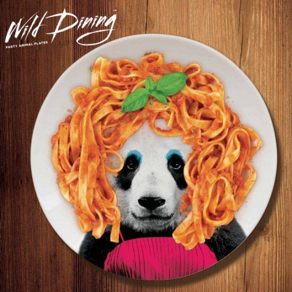 Talíře Wild Dining - Panda