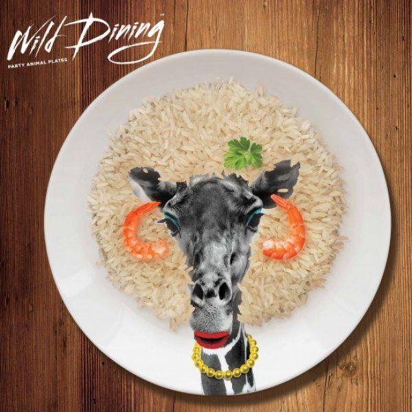 Talíře Wild Dining - Žirafa
