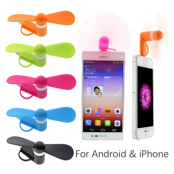 Větráček pro smartphone - Android a Apple adaptér
