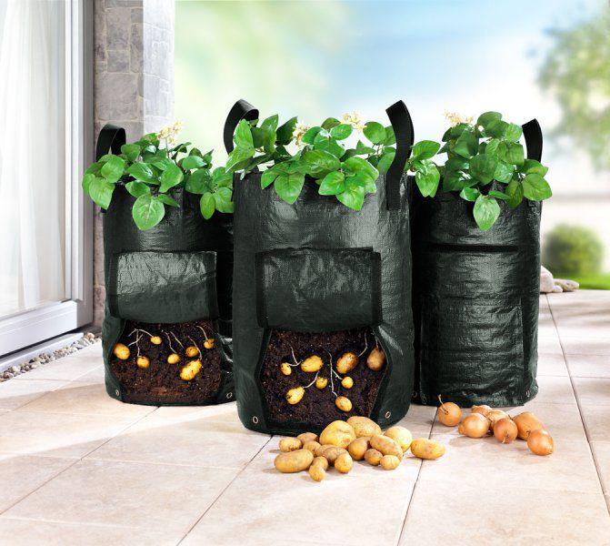 Zahradní pěstitelský pytel