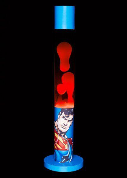 Lávová lampa Superman