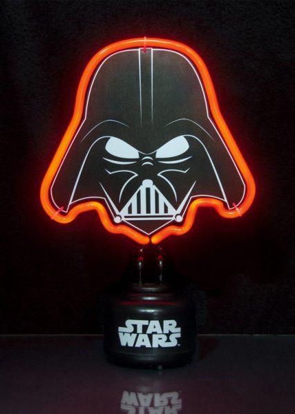 Malé neonové světlo Star Wars – Darth Vader