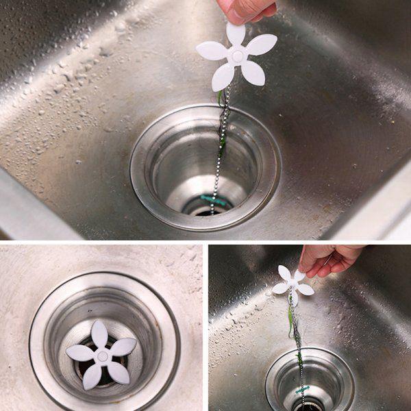 Květinka proti ucpání odpadu
