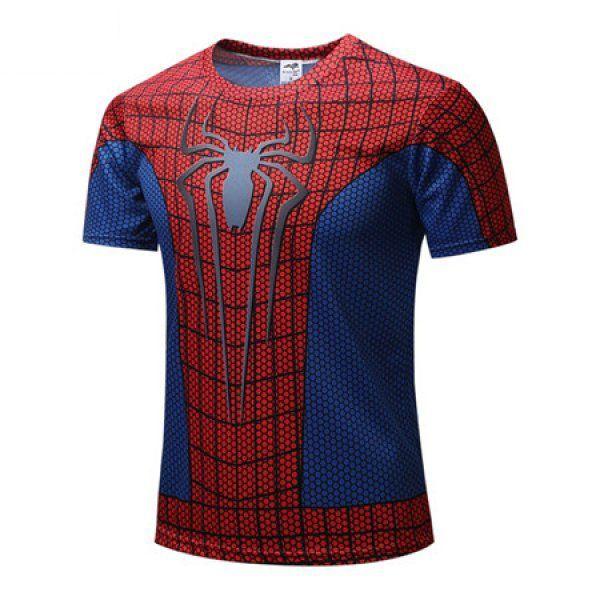 Sportovní tričko – Spiderman – Velikost L