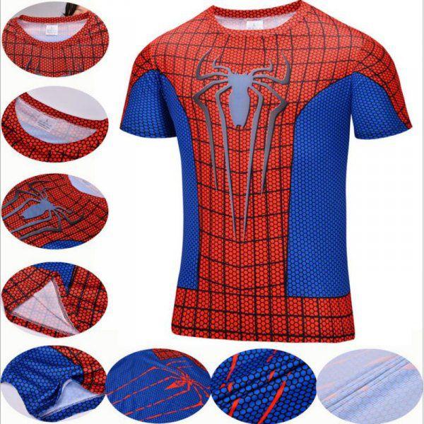 Sportovní tričko - Spiderman - Velikost XXL