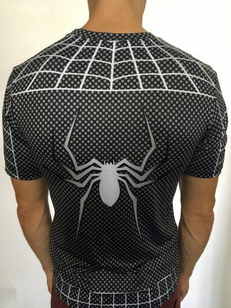 Sportovní tričko - Spiderman SYMBIOTE - černá - Velikost XXL