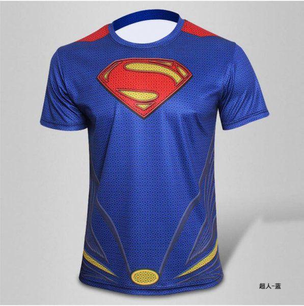 Sportovní tričko - Superman - Velikost S