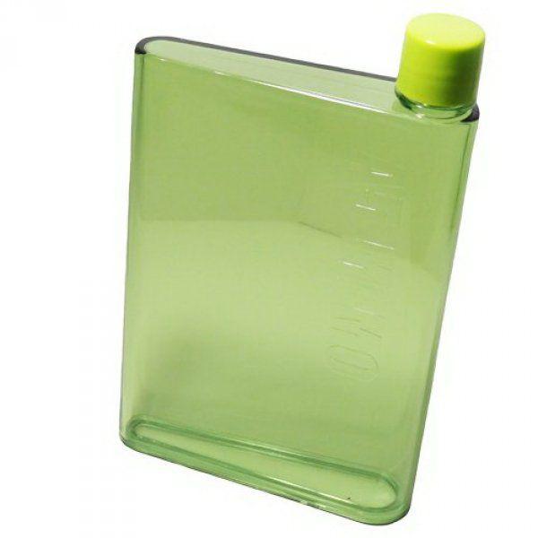 Láhev na vodu ve tvaru sešitu - A5 - Zelená