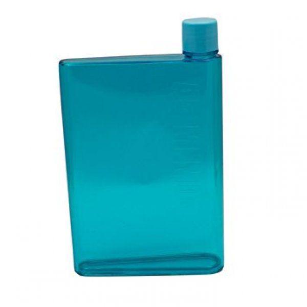 Láhev na vodu ve tvaru sešitu - A5 - Modrá