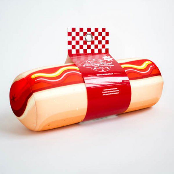 Relaxační polštář - hot dog