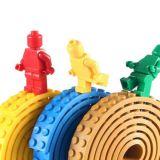 Nalepovací lego pásek - Modrá