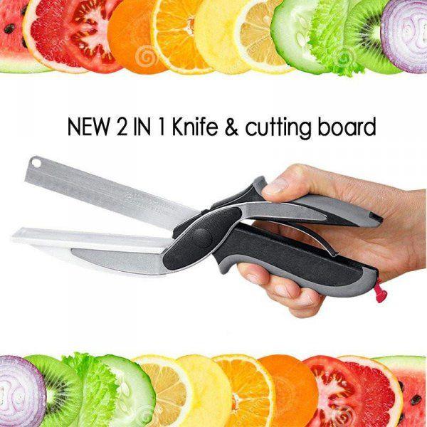 Nůžky do kuchyně 2v1 clever cutter